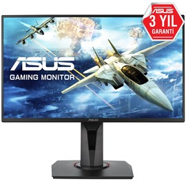 "Asus VG258QR 24.5"" 0.5ms 165Hz G-SYNC FreeSync Full HD HDMI DP DVI Oyuncu Monitörü"