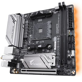 Gigabyte B450 I AORUS PRO WIFI DDR4 M.2 HDMI DP 16x AM4 Mini-ITX
