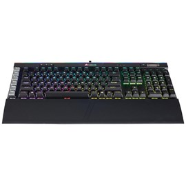 Corsair K95 RGB PLATINUM Işıklı Mekanik Cherry MX Brown Black CH-9127012-TR Gaming Q TR Klavye