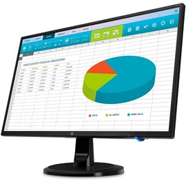 "HP N246v 3NS59AA 23.8"" 5ms Full HD HDMI DVI IPS Led Monitör"