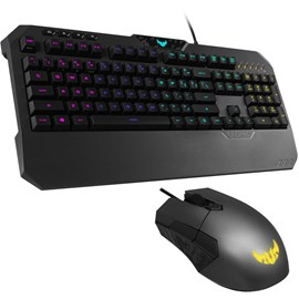 Asus TUF GAMING Combo K5 RGB Gaming USB Klavye Mouse Set Aura Sync