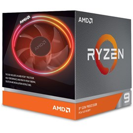 AMD Ryzen 9 3900X 4.6GHz 70MB Wraith Prism 105W 7nm AM4 İşlemci