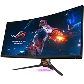 "Asus ROG SWIFT PG35VQ 35"" 2ms 200Hz Ultra-Wide ESS Amfi HDR Kavisli Oyuncu Monitörü"