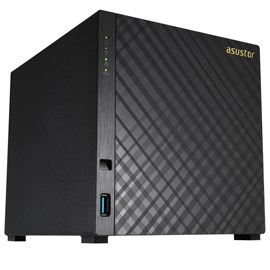 Asustor AS3204T v2 NAS Server Gigabit 4x Depolama Ünitesi