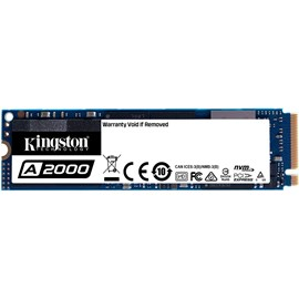 Kingston SA2000M8/250G A2000 250GB M.2 PCIe NVMe Gen3 x4 SSD 2000/1100MB