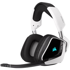 Corsair CA-9011202-EU VOID RGB ELITE Beyaz Wireless Premium Gaming Kulaklık 7.1 Surround