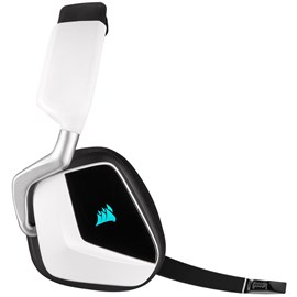Corsair VOID RGB ELITE Beyaz Wireless Premium CA-9011202-EU Gaming Kulaklık 7.1 Surround