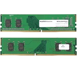Mushkin MES4U240HF8GX2 Essentials 16GB (2x8GB) DDR4 2400MHz CL17