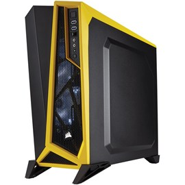 Corsair CC-9011094-WW Carbide SPEC-Alpha Siyah Sarı Pencereli Gaminig Mid Tower Kasa (Psu Yok)