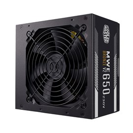 Cooler Master MWE 650W 80+ Bronze V2 120mm Fanlı PSU