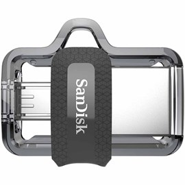 SanDisk SDDD3-064G-G46 Ultra Dual Drive m3.0 64GB micro Usb-Usb 3.0 Android Flash Bellek 150Mb