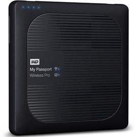 Western Digital WDBP2P0020BBK-EESN My Passport Wireless Pro 2TB Wi-Fi SD 3.0 Powerbank