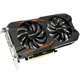 Gigabyte GV-N105TWF2OC-4GD GeForce GTX 1050 Ti Windforce OC 4GB GDDR5 128Bit 16x