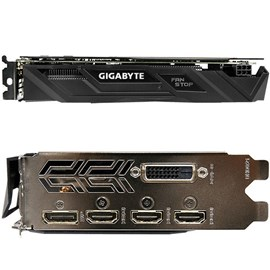 Gigabyte GV-N105TG1 GAMING-4GD GeForce GTX 1050 Ti G1 Gaming 4GB GDDR5 128Bit 16x
