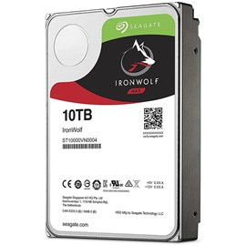 "Seagate ST10000VN0004 IronWolf 10TB 256MB 7200Rpm 3.5"" SATA 3 NAS 210MB/s"