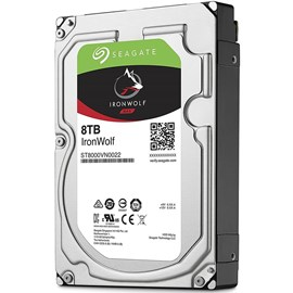 Seagate ST8000VN0022 IronWolf 8TB 256MB 7200Rpm 3.5 SATA 3 NAS 210MB/s