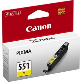 Canon CLI-551Y Yellow Sarı Kartuş IP7250 MG5450 MG6350