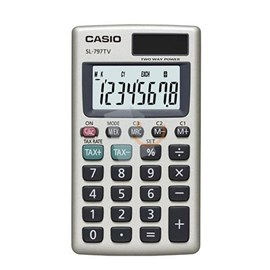 CASIO SL-797TV-GD 8 Hane Cep Tipi Hesap Makinesi