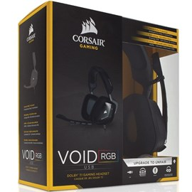 Corsair CA-9011130-EU VOID RGB USB Dolby 7.1 Carbon Gaming Kulaklık
