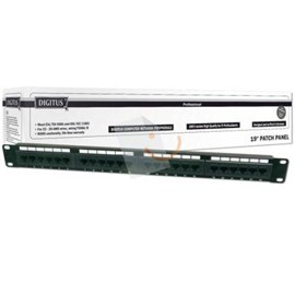 "Digitus DN-91624U 19"" 24 Port Cat-6 UTP Patch Panel"