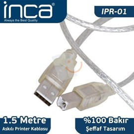 INCA IPR-01 1.5 Metre Usb2.0 Printer Kablosu