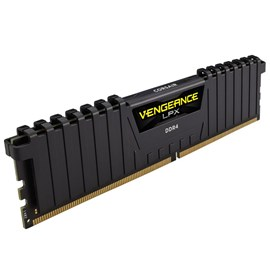 Corsair CMK16GX4M1A2400C14 Vengeance Siyah 16GB DDR4 2400Mhz CL14 Single