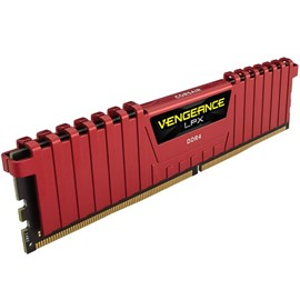 Corsair CMK8GX4M1A2400C16R Vengeance LPX Kırmızı 8GB DDR4 2400Mhz CL16 Single