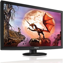 "Philips 273E3LHSB/00 27"" 2ms Full HD HDMI DVI Geniş Siyah Led Monitör"