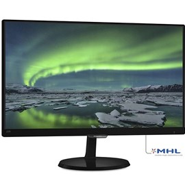 "Philips 237E7QDSB/00 23"" 14ms Full HD DVI-D MHL-HDMI AH-IPS Beyaz Led Monitör"