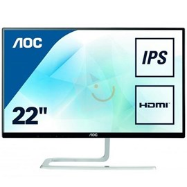 "AOC I2281FWH 21.5"" 4ms Full HD D-Sub HDMI Ultra İnce AH-IPS Led Monitör"