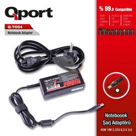 Qport QS-TO04 45W Notebook Adaptör