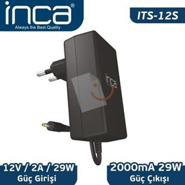 Inca ITS-12S 12V 2A Universal Tablet Şarj Adaptörü