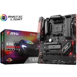 MSI B350 GAMING PRO CARBON DDR4 M.2 DVI HDMI 16x AM4 ATX