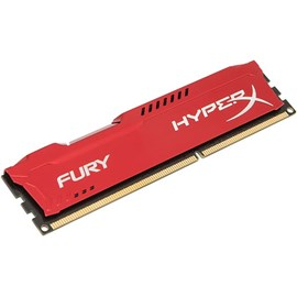 HyperX HX316C10FR/4 Fury Red 4GB 1600MHz DDR3 CL10