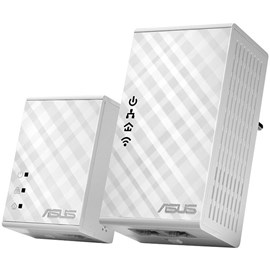 Asus PL-N12 Kit 300Mbps Kablosuz HomePlug AV500 Powerline Adaptör Kiti