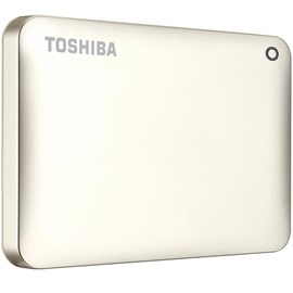 Toshiba HDTC820EC3CA Canvio Connect II Satin Gold 2TB 2.5 Usb 3.0/2.0 Disk
