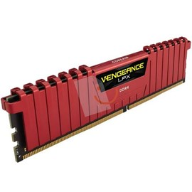 Corsair CMK8GX4M1A2400C16R Vengeance Kırmızı DDR4 2400Mhz CL16 8GB Single