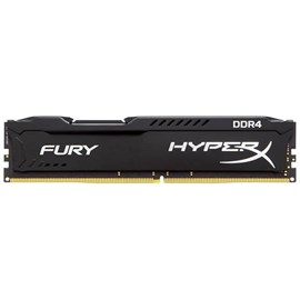HyperX HX426C15FBK2/8 Fury Black 8GB (2x4GB) 2666MHz DDR4 CL15 Dual Kit