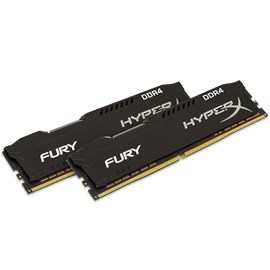 HyperX HX424C15FB2K2/16 Fury Black 16GB (2x8GB) 2400MHz DDR4 CL15 Dual Kit
