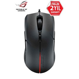 Asus P302 Rog Strix Evolve Siyah Usb Optik Gaming Mouse