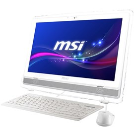 "MSI PRO 22ET 4BW-022XEU Beyaz Celeron N3160 4GB 1TB 21.5"" Touch Full HD FreeDos"