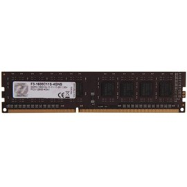 G.SKILL F3-1600C11S-4GNS Value 4GB DDR3 1600Mhz CL11