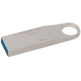 Kingston DTSE9G2/8GB DataTraveler SE9 G2 3.0 8GB Metal Usb 3.0 Bellek