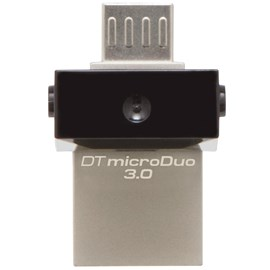 Kingston DTDUO3/16GB DataTraveler microDuo 16GB OTG Usb 3.0-MicroUsb Bellek