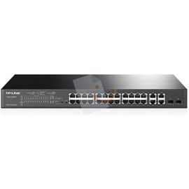 Tp-Link T1500-28PCT 24 Port 10/100Mbps + 4-Port Gigabit Smart PoE+ Switch