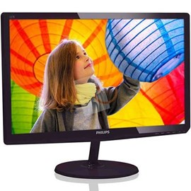 "Philips 227E6LDSD/00 21.5"" 1ms Full HD D-Sub DVI MHL-HDMI Siyah Led Monitör"