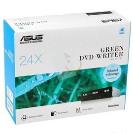 Asus DRW-24F1MT/BLK/G/AS/P2G 24x Sata DVD-RW Siyah (Box)