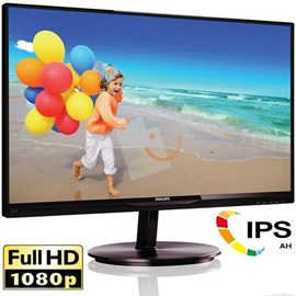 "Philips 224E5QSB/01 21.5"" Full HD D-Sub DVI AH-IPS Led Siyah Monitör"
