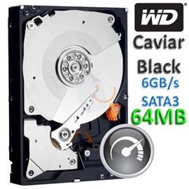 "Western Digital WD5003AZEX Caviar Black 500GB 64MB 7200Rpm Sata3 3.5"" Disk"
