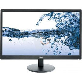 "AOC E2270SWHN 21.5"" 5ms Full HD D-Sub HDMI Siyah Led Monitör"